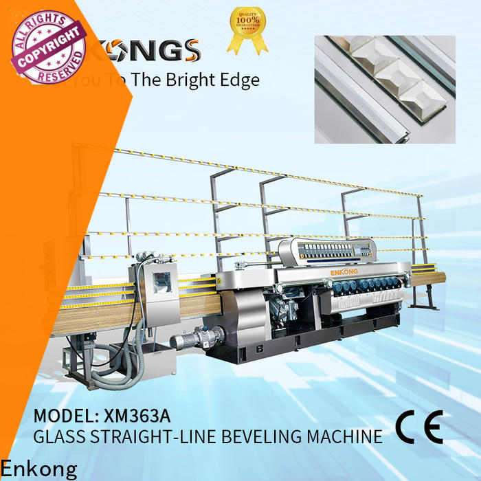 Enkong Top glass beveling machine price manufacturers for polishing
