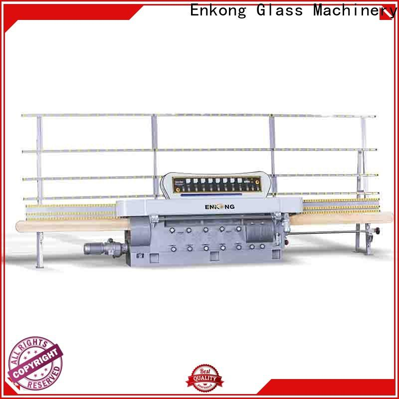 Enkong zm4y glass edger for sale company for photovoltaic panel processing
