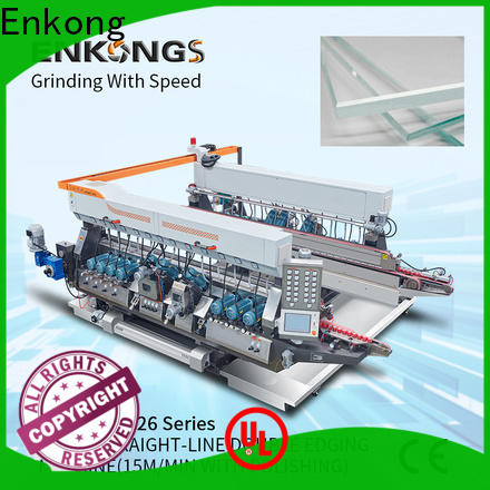 Enkong modularise design automatic glass edge polishing machine manufacturers for photovoltaic panel processing