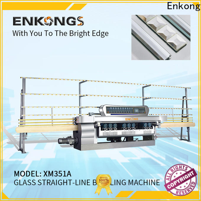 Top glass beveling machine manufacturers xm363a supply for glass processing