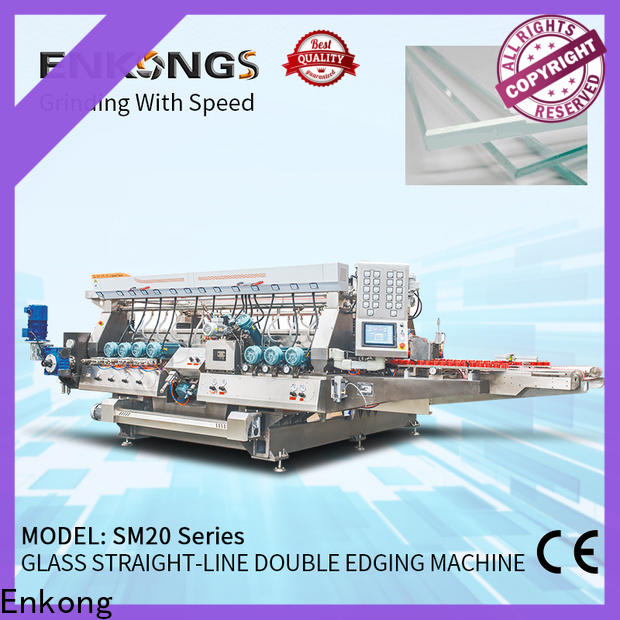 Enkong Wholesale glass double edging machine supply for household appliances