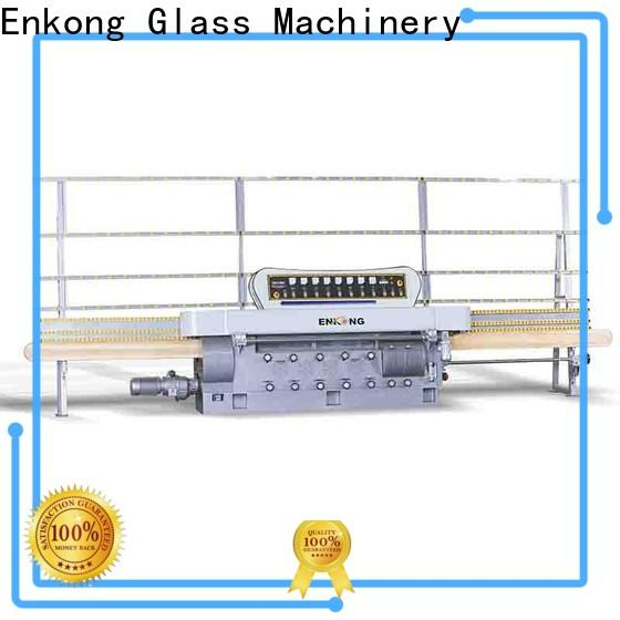 Enkong Top glass edging machine supply for round edge processing