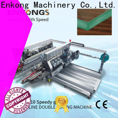 Enkong High-quality double glass machine company for round edge processing