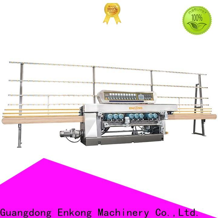 New glass bevelling machine suppliers 10 spindles suppliers for polishing