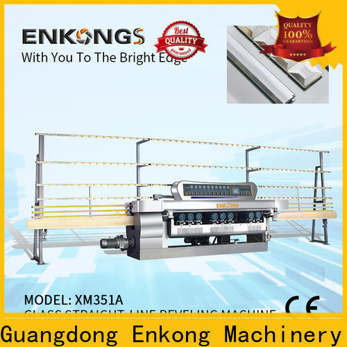 Top glass straight line beveling machine xm363a manufacturers for glass processing