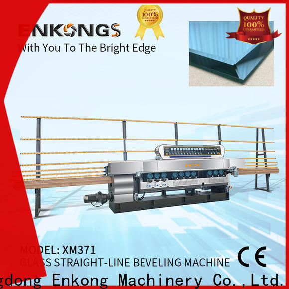 Enkong Latest small glass beveling machine for business for polishing