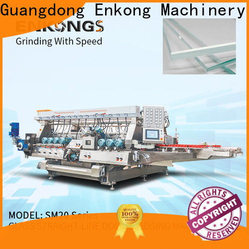 Enkong New glass double edger company for photovoltaic panel processing