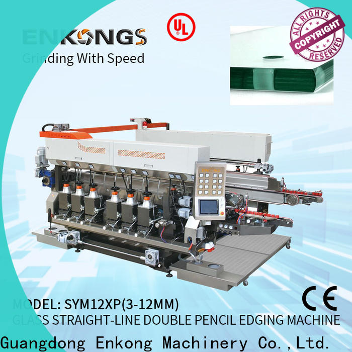 Wholesale glass double edging machine SM 12/08 company for photovoltaic panel processing