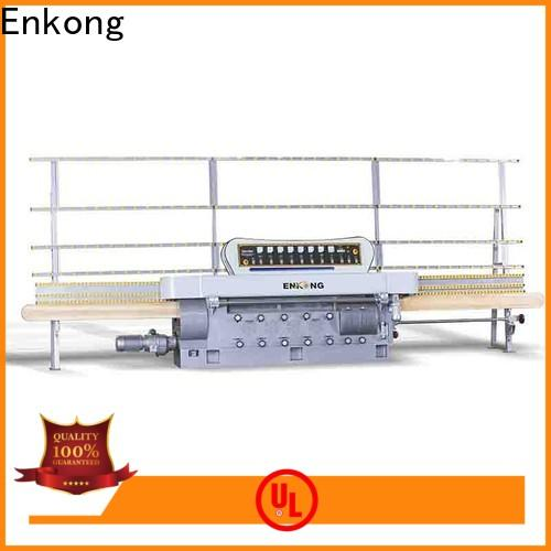 Enkong zm11 glass edge grinding machine company for round edge processing