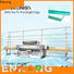 Enkong with ABB spindle motors glass straight line edging machine company for grind