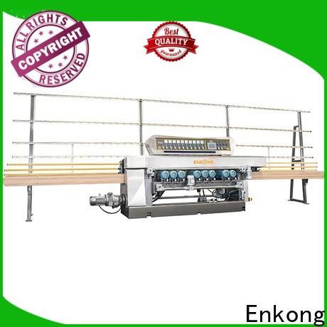 Enkong Top glass beveling machine for sale factory for glass processing