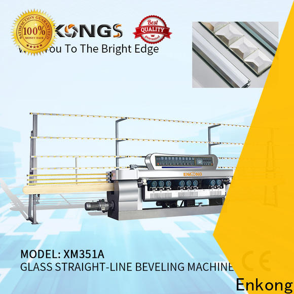 Enkong Custom glass beveling machine for business for glass processing