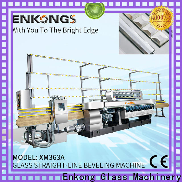 Enkong Best glass beveling machine for sale factory for glass processing