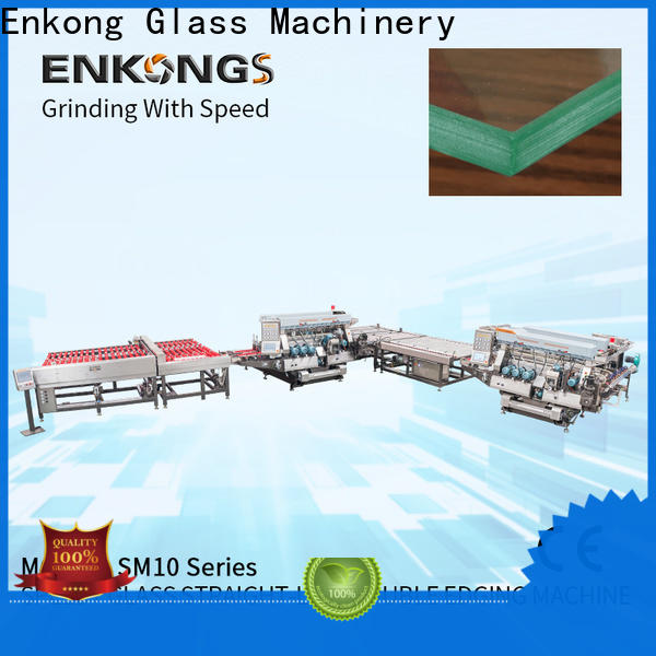 High-quality automatic glass edge polishing machine SM 12/08 company for photovoltaic panel processing