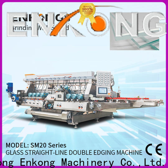 Latest glass edging machine suppliers modularise design for business for round edge processing