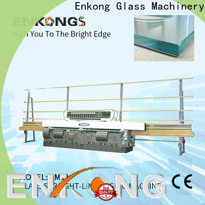 Enkong Top cnc glass cutting machine for sale for business for round edge processing