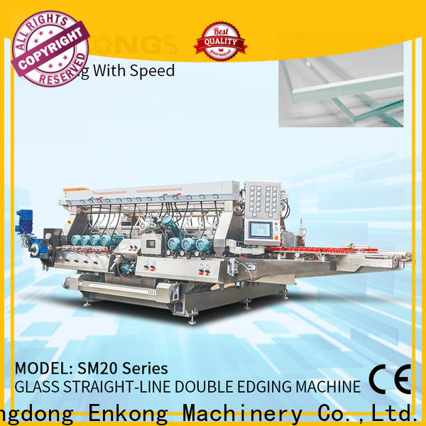 Enkong SM 20 automatic glass cutting machine company for photovoltaic panel processing