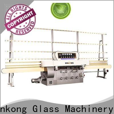 Enkong zm7y glass edging machine for sale suppliers for round edge processing