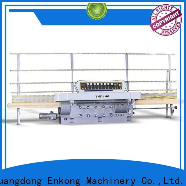 Enkong zm9 glass edge polishing machine manufacturers for photovoltaic panel processing
