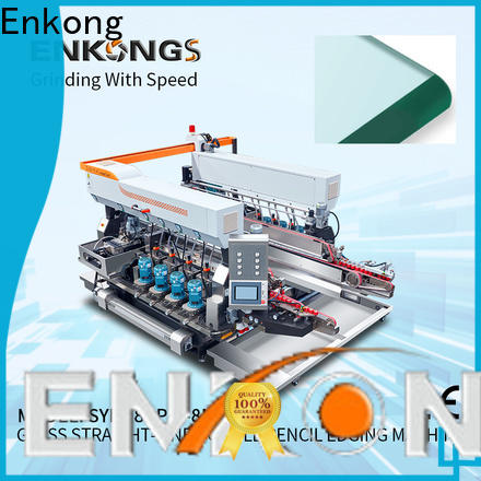 Enkong Custom glass double edger machine suppliers for household appliances
