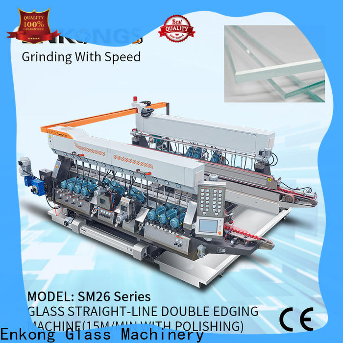 Best double glass machine modularise design factory for round edge processing