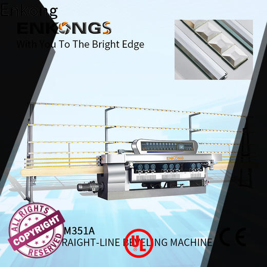 Enkong High-quality glass beveling machine price factory for polishing