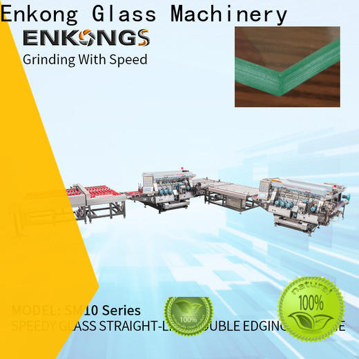 Enkong SM 26 double glass machine factory for round edge processing
