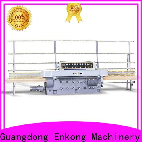 Enkong zm4y glass edge polishing machine manufacturers for round edge processing
