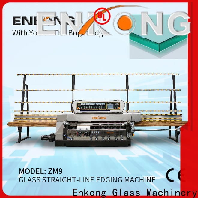 Enkong Best glass edge polishing machine for sale for business for photovoltaic panel processing
