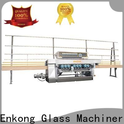 Enkong Best glass straight line beveling machine supply for polishing