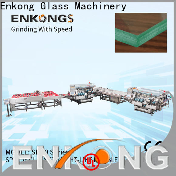 Enkong SM 20 small glass edge polishing machine for business for household appliances