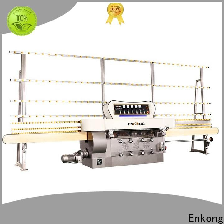 Enkong Custom glass edge polishing machine for sale factory for photovoltaic panel processing