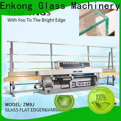 Enkong Wholesale glass manufacturing machine price factory for round edge processing