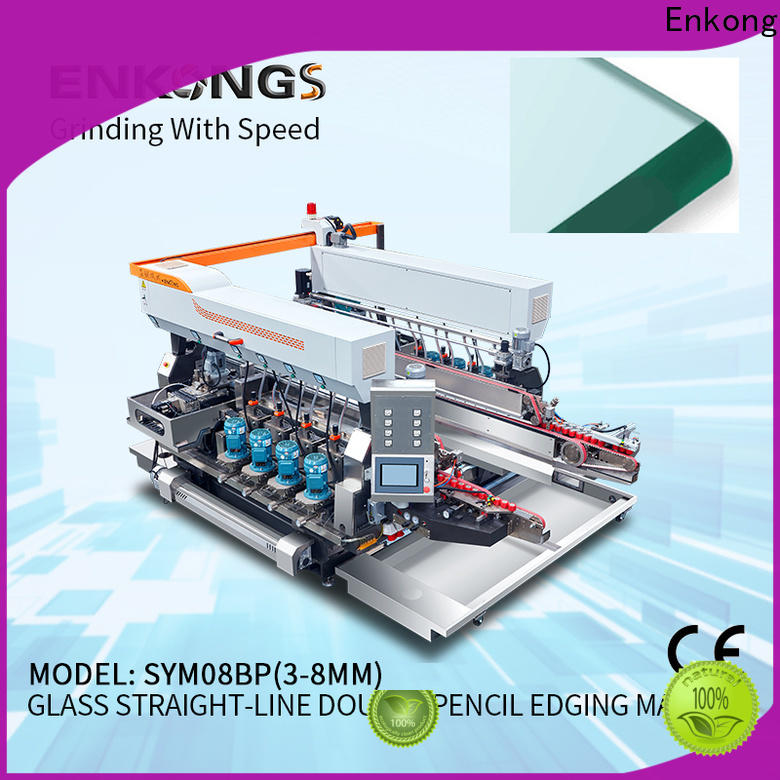Enkong SM 26 glass edging machine suppliers company for photovoltaic panel processing