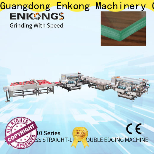 Custom glass double edging machine straight-line suppliers for household appliances
