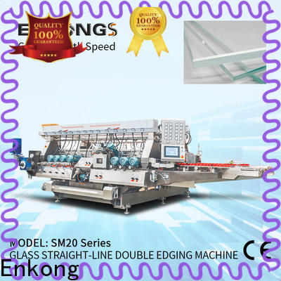 Wholesale glass double edger machine SM 20 suppliers for photovoltaic panel processing