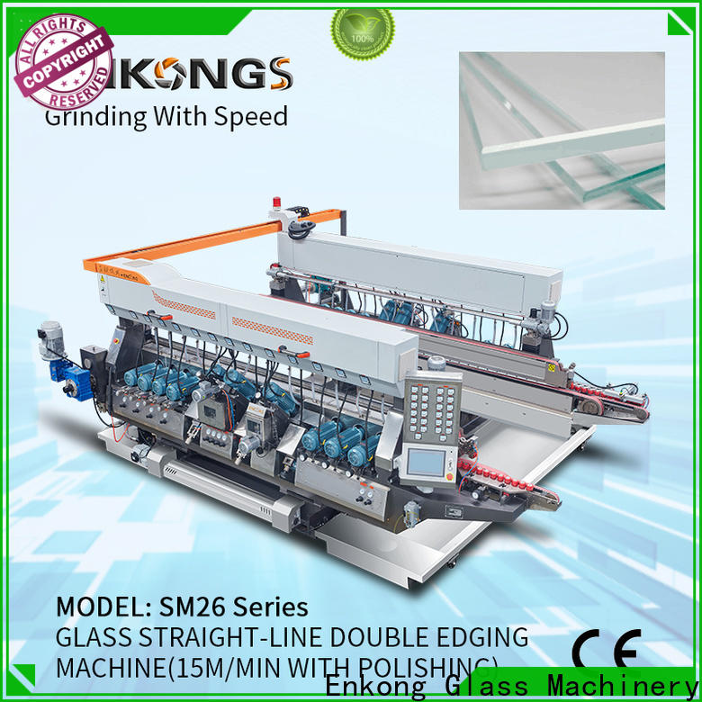 Enkong SM 10 glass edging machine suppliers factory for household appliances