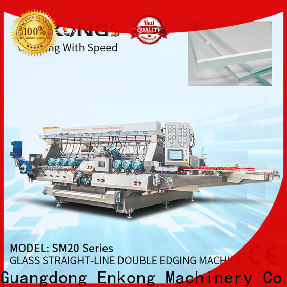 Top glass double edging machine SM 26 manufacturers for household appliances
