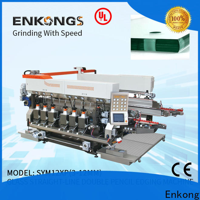 Enkong New glass double edger machine manufacturers for photovoltaic panel processing