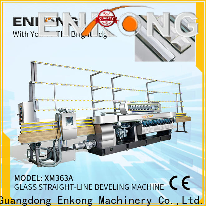 High-quality small glass beveling machine xm351 factory for glass processing