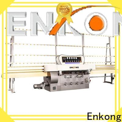 Enkong zm7y glass edging machine price manufacturers for round edge processing