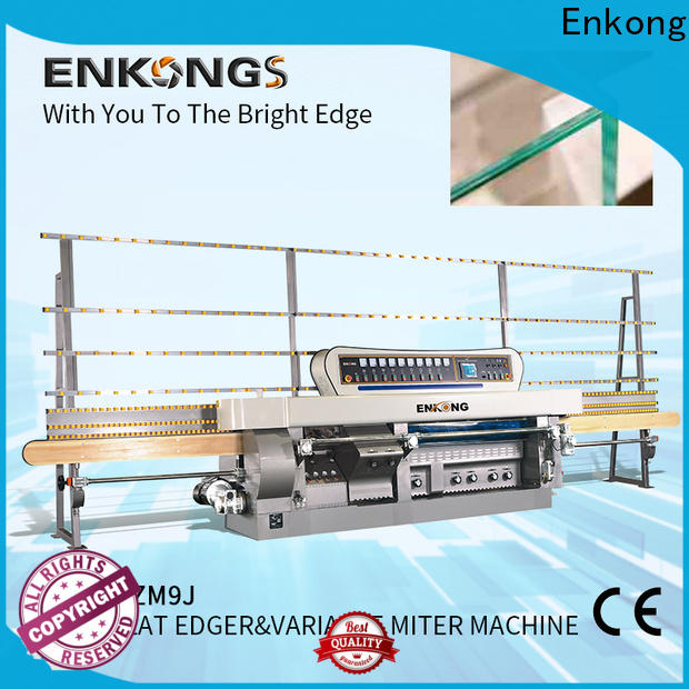 Enkong New glass mitering machine for business for round edge processing