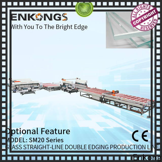 Enkong High-quality double edger manufacturers for round edge processing