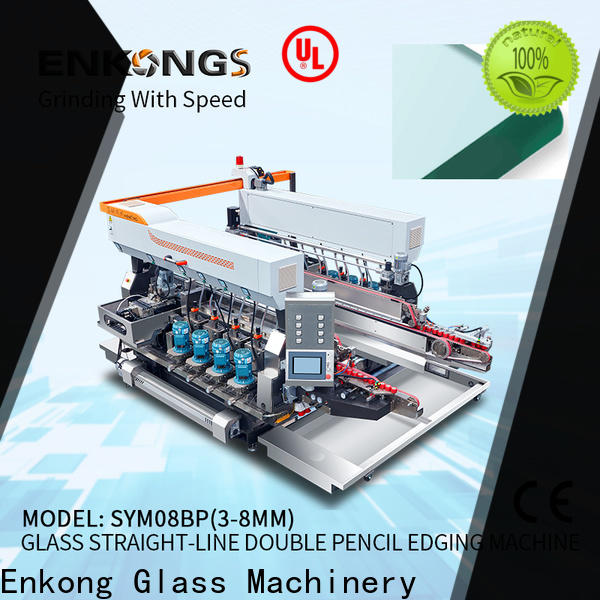 Enkong SYM08 glass double edger for business for household appliances