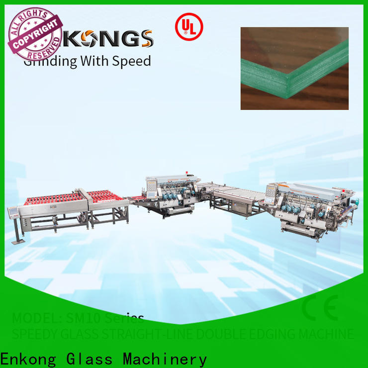 New glass double edger machine SYM08 for business for photovoltaic panel processing