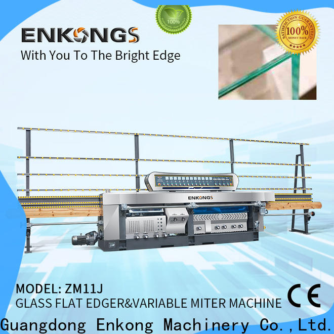 Enkong New glass machine factory suppliers for grind