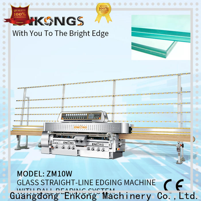 Enkong Wholesale steel glass making machine price suppliers for polish