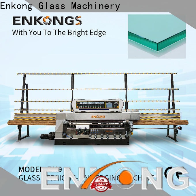 Enkong Custom glass edging machine manufacturers for round edge processing