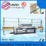 Enkong 5 adjustable spindles glass manufacturing machine price company for round edge processing