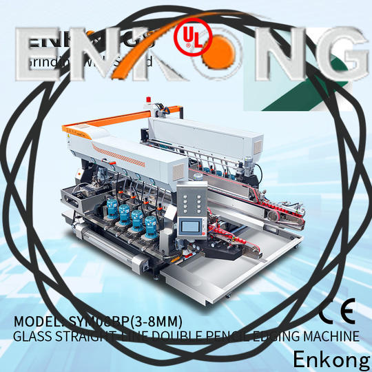 Top small glass edge polishing machine modularise design company for round edge processing
